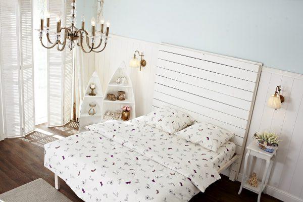 постельное белье с бабочками