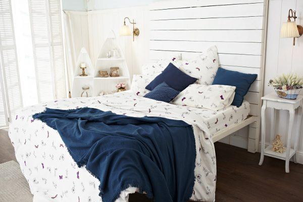 комплект постельного из фланели