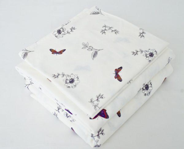 комплект постельного белье из фланели