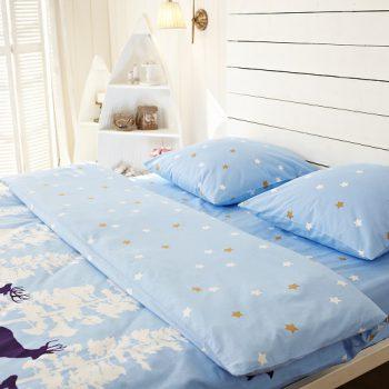 Фланелевое постельное белье лапландия