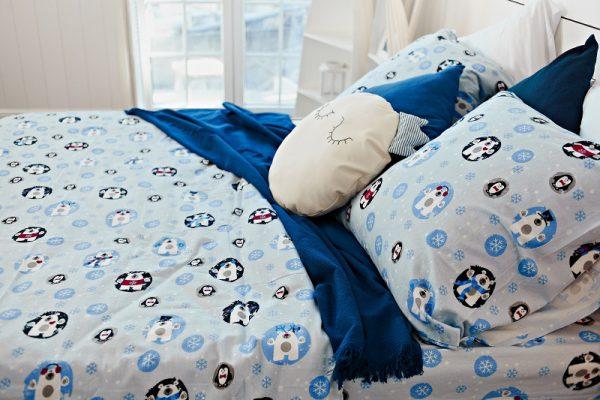 мягкое постельное белье из фланели