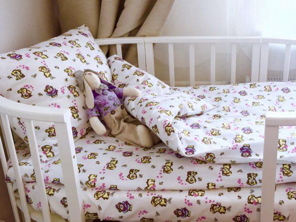 постельное белье рисунок мишки