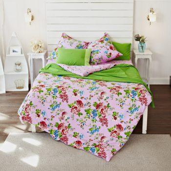 комплект постельного белья цветочный