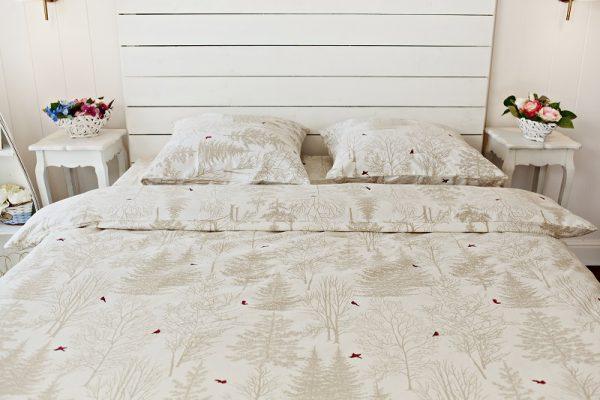 постельное белье бежевое
