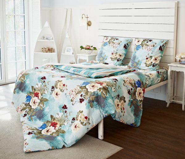 цветочный рисунок постельного белья