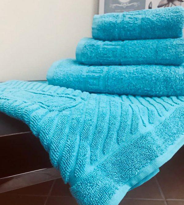 "Махровые полотенца ""Бирюза"""