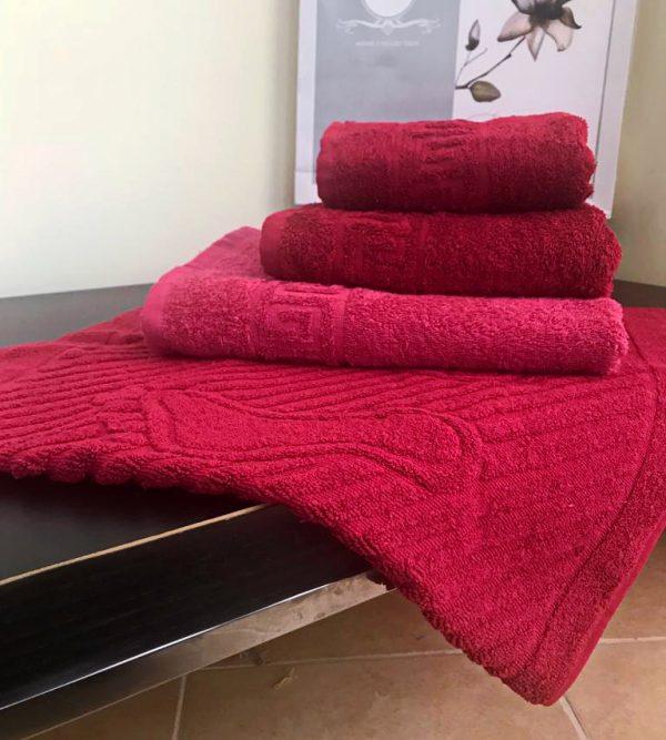 "Махровые полотенца ""Гранат"""
