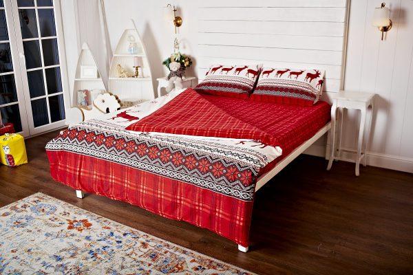 Фланелевое постельное белье Нордик