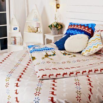 комплект постельного белья в подарок