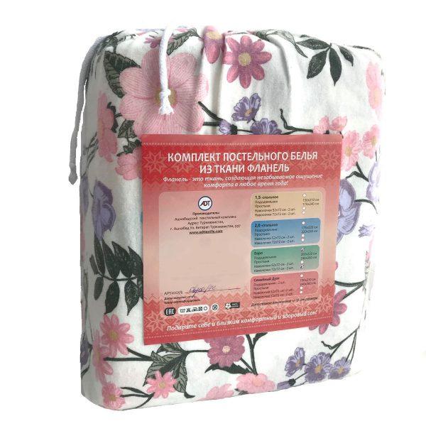 Постельное белье флорал упаковка