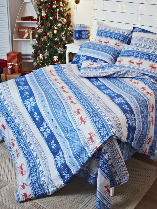Фланелевое постельное белье